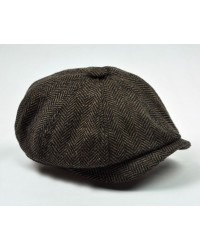 European Beret Cap - 2 colors available (Brown or Gray)